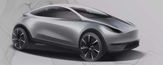 Доступный электромобиль Tesla Model Q за 25 000 долларов показали на рендере