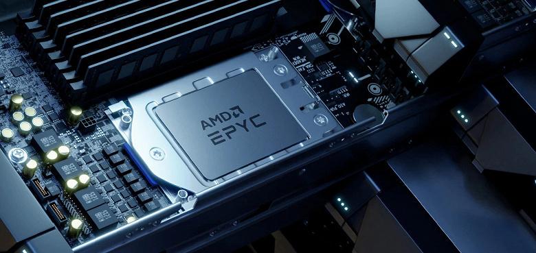 По данным Omdia, доля AMD на рынке серверных процессоров достигла рекордных 16%
