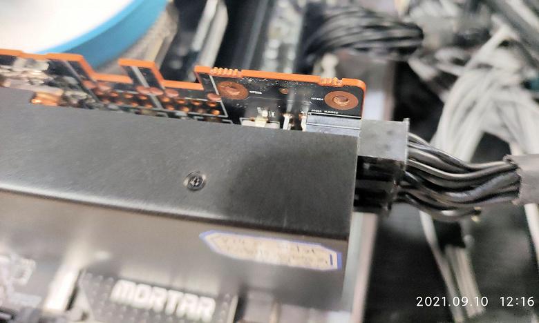 Невыпущенная майнинговая видеокарта AMD засветилась в Китае. У нее 10 ГБ памяти GDDR6 и производительность около 40 MH/s