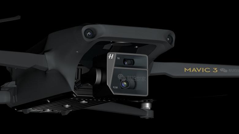 Крупные датчики разрешением 20 и 12 Мп, 7-кратный зум, дальность полета 15 км, прямая зарядка от кабеля USB-C и цена как у Mavic 2 Pro. Характеристики и стоимость DJI Mavic 3 Pro