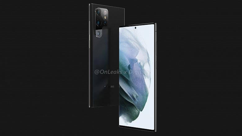 Samsung Galaxy S22 Ultra может оказаться очень странным и даже «уникальным»: качественные рендеры и видео от надёжного источника