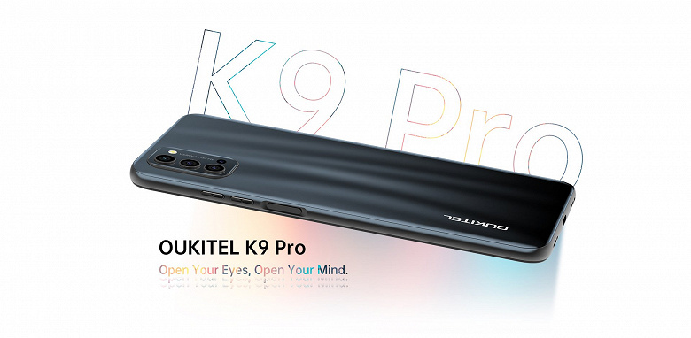 7-дюймовый смартфон с аккумулятором ёмкостью 5000 мА•ч и NFC. Представлен Oukitel K9 Pro