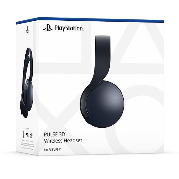 Sony представила гарнитуру Pulse 3D в черном цвете. Ждем черную версию PlayStation 5?