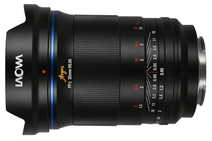 Представлен объектив Laowa Argus 35mm f/0.95 FF