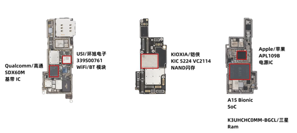 iPhone 13 Pro разобрали и сравнили с iPhone 12 Pro