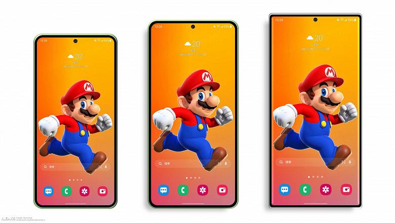 Samsung Galaxy S22, S22+ и S22 Ultra впервые показали на одном изображении. Также стали известны габариты и массы смартфонов