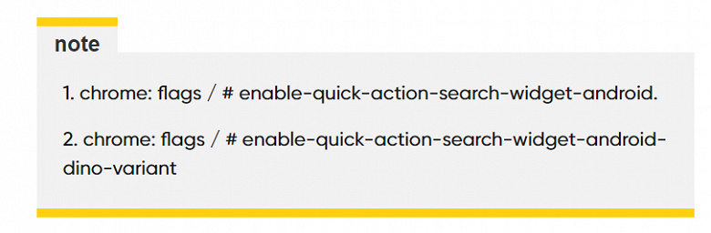 Новые виджеты для Chrome на Android практически идентичны таковым для iOS