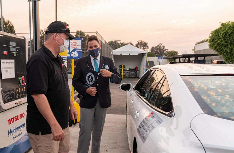 Электромобилям и не снилась такая автономность. Toyota Mirai проехала на одной заправке 1360 км
