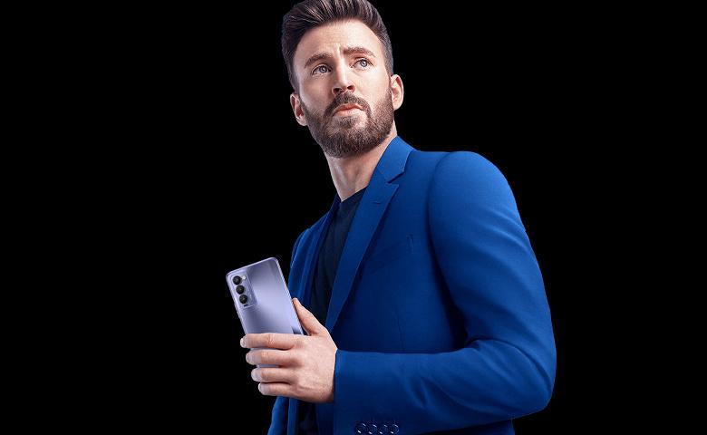Крис Эванс, сыгравший Капитана Америку, стал лицом смартфонов Tecno Camon 18 и Camon 18P