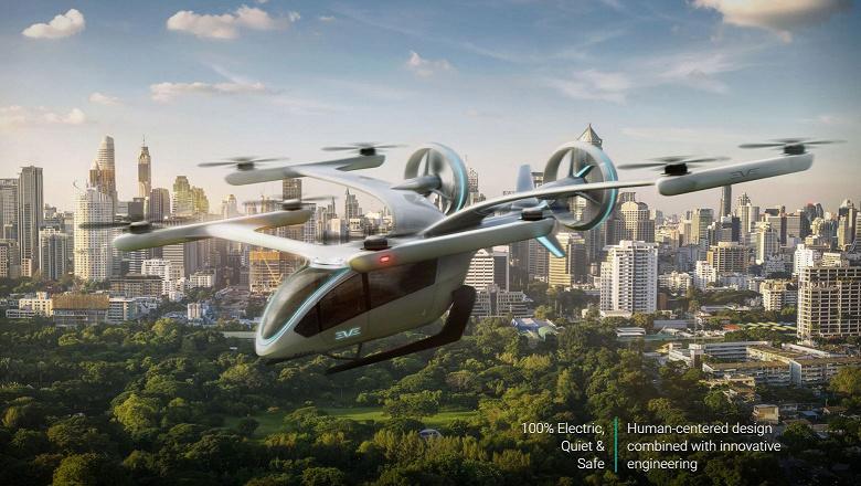 Компания Eve получила в Бразилии заказ на 100 электролетов вертикального взлета и посадки