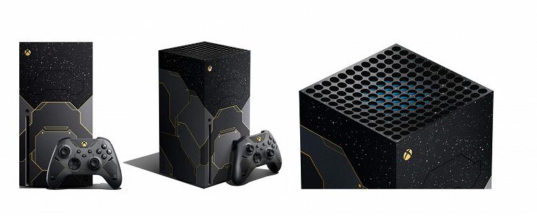 Юбилейная Xbox Series X Halo Infinite Limited Edition прибывает в Россию