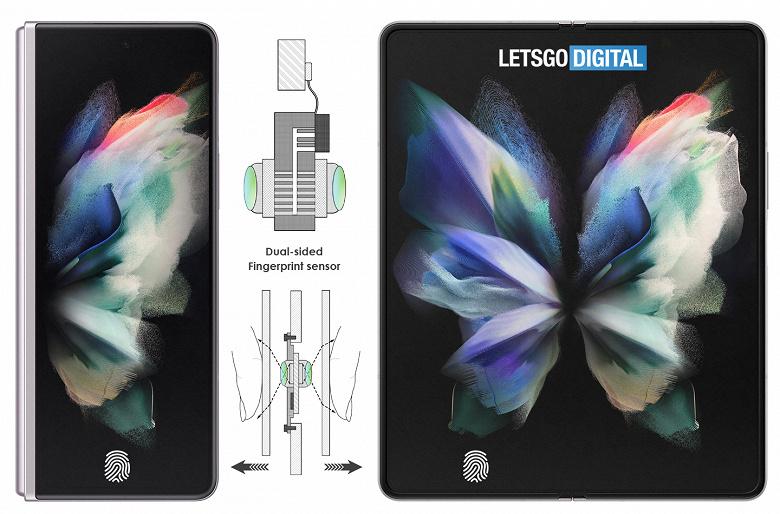 Samsung Galaxy Z Fold4 получит уникальное решение для распознавания пользователей: сканер отпечатков пальцев будет работать сразу на двух экранах