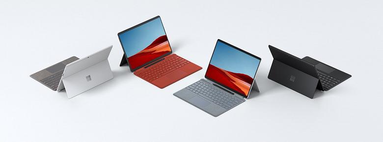Miccrosoft тоже хочет SoC Arm с GPU AMD. Новый планшет Surface Pro X может получить такую полузаказную платформу