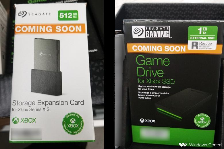 Карту памяти для Xbox Series X|S ёмкостью 512 ГБ и внешний SSD на 1 ТБ уже рекламируют в магазинах