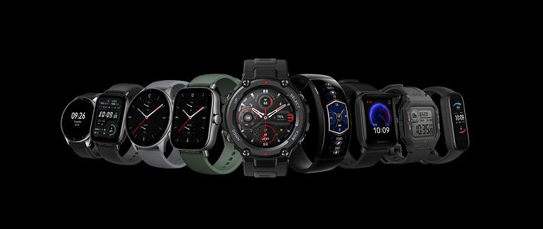 Анонсированы умные часы Amazfit на базе новой ОС