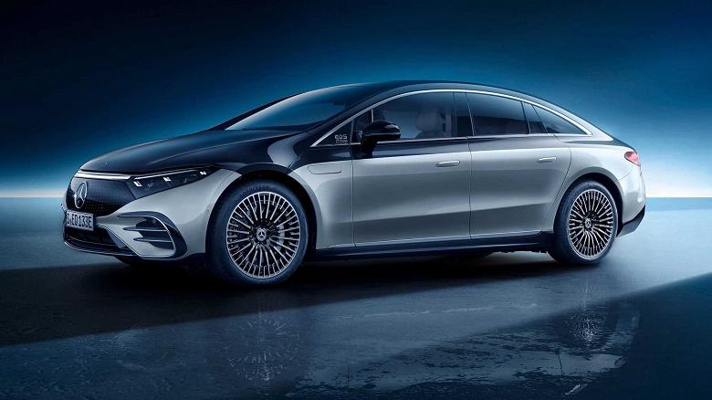 Электромобиль Mercedes-Benz EQS проезжает без подзарядки на 200 км меньше, чем ожидалось