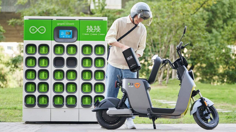 Новые законы выведут из эксплуатации 270 млн машин с ДВС только в Китае: в ожидании новых клиентов Gogoro запустила сервис быстрой замены аккумуляторов для электроскутеров