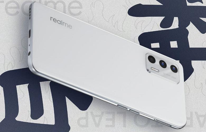 Realme раскрыла дизайн своего нового смартфона: опубликовано официальное изображение Realme GT Neo 2T