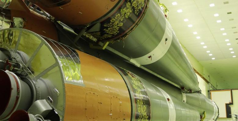 Роскосмос запустит ракету «Союз», расскрашенную под хохлому в честь 800-летия Нижнего Новгорода