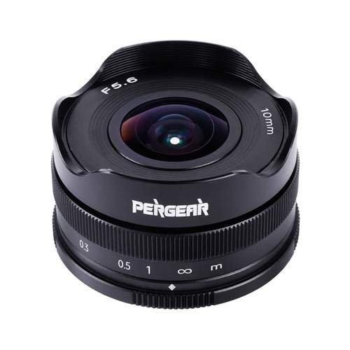 Объектив Pergear 10mm F5.6 стоит 89 долларов