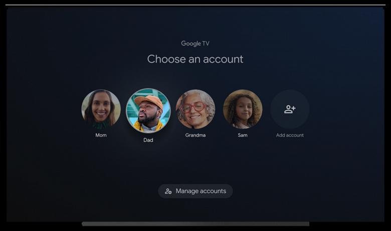 Большое обновление Google TV: долгожданная полноценная поддержка профилей разных пользователей и не только