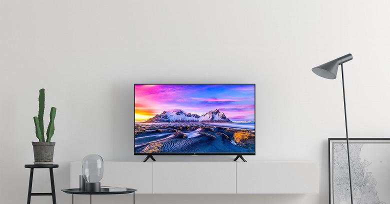 Xiaomi выпустила в России самый доступный безрамочный телевизор Mi TV P1