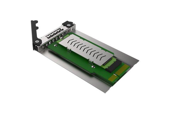 Icy Dock CP040 трансформирует отсек для тонкого оптического привода в отсек для сменного лотка с твердотельным накопителем
