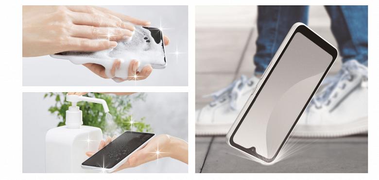 Компактный смартфон, который можно мыть с мылом. Представлен FCNT ArrowsWe