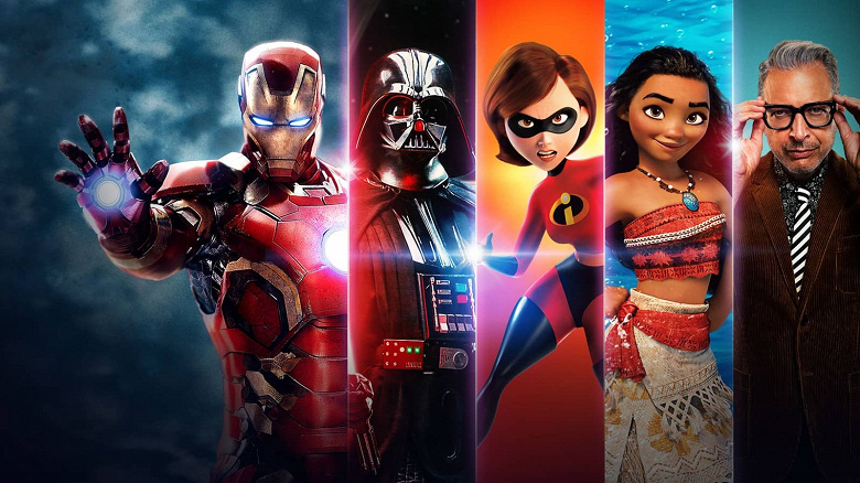 The power of the Marvel movies, the Star Wars universe and the Pixar cartoons.  Disney + will surpass Netflix to become the most popular video streaming service in a few years
