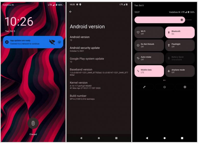 Первые альтернативные прошивки Android 12 уже доступны для энтузиастов
