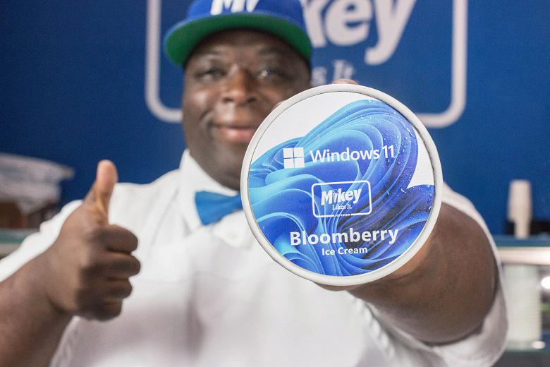 Bloomberry - официальное мороженое Windows 11