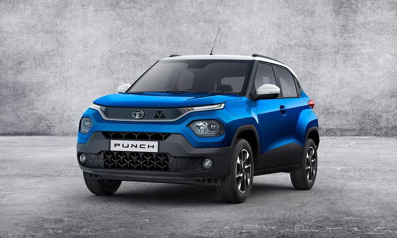 Самый дешёвый электромобиль в Индии. Tata готовит электрическую версию микрокроссовера Punch