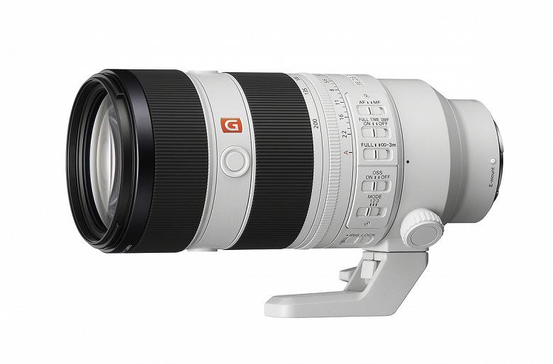 Представлен объектив Sony FE 70-200mm F2.8 GM OSS II