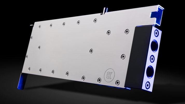 Водоблоки EK-Pro GPU WB RTX A6000 и EK-Pro GPU WB A100 для видеокарт Nvidia GeForce RTX A6000 и A100 стоят по 260 евро