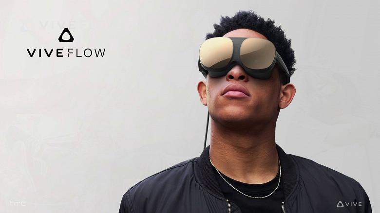 Гарнитура VR для медитации и психологического благополучия с ценой 500 долларов. Представлена HTC Vive Flow