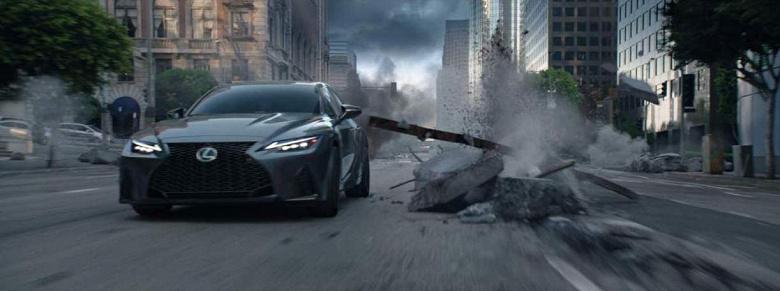 Следующий блокбастер Marvel Studios «Вечные» рекламируют при помощи 2022 Lexus IS 500 F Sport Performance