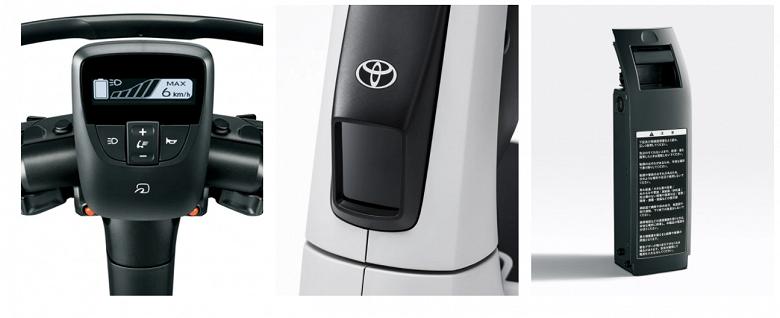 Toyota за 3000 долларов с максимальной скоростью 10 км/ч. Представлен электрический самокат C+walkT