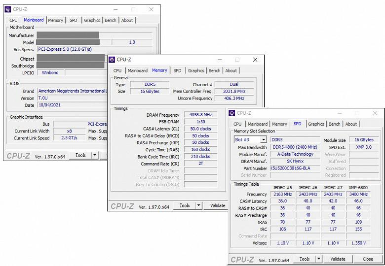 Специалисты XPG первыми разогнали память DDR5 до 8118 МТ/с