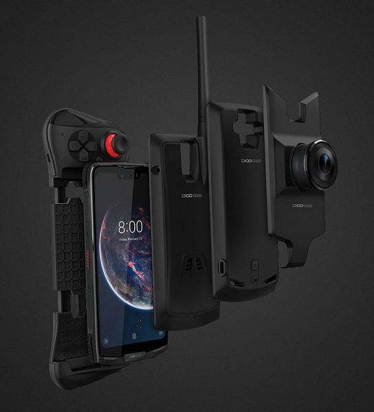 Опубликован официальный рендер Doogee S90 — первого защищенного модульного смартфона