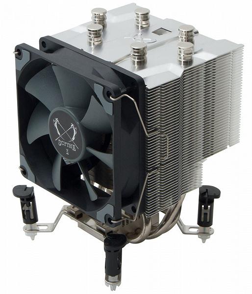 Высота процессорной системы охлаждения Katana 5 равна 135 мм