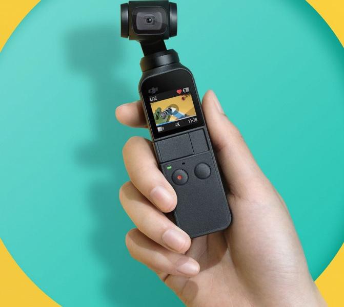 Представлена Osmo Pocket – самая маленькая камера DJI с миниатюрным трехосным стабилизатором и поддержкой дополнительных модулей