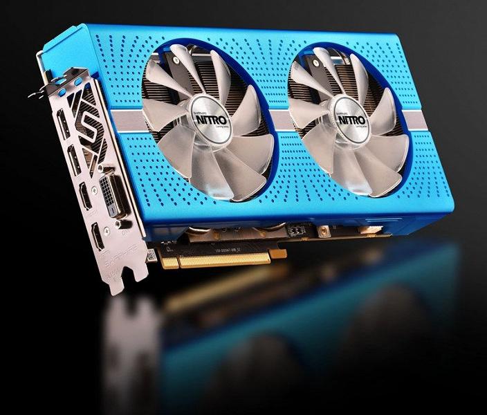 Память видеокарты Sapphire Nitro+ Radeon RX 590 8GD5 Special Edition работает на повышенной частоте