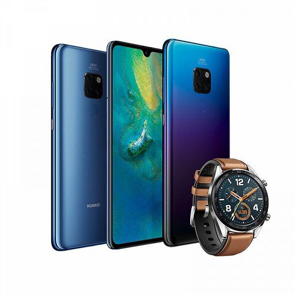В России стартуют продажи флагманских смартфонов Huawei Mate 20 и Mate 20 Pro
