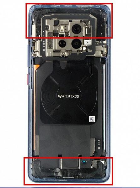 Фотогалерея дня: процесс разборки флагманского смартфона Huawei Mate 20 Pro