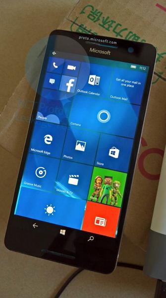Появились фото смартфона Microsoft Lumia 960 на базе SoC Snapdragon 820