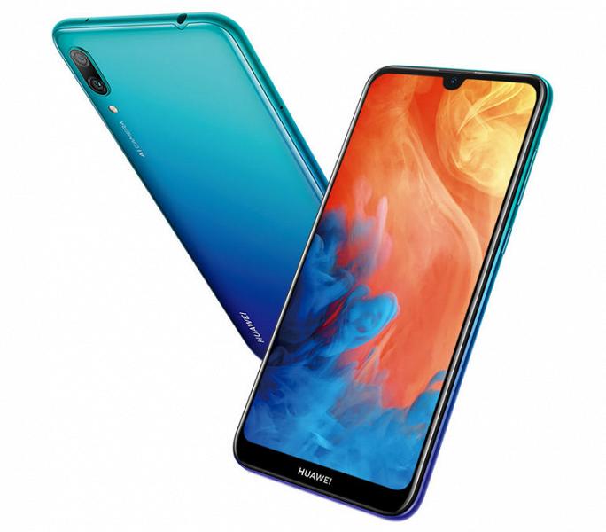 Смартфон Huawei Y7 Pro 2019 снабжен тремя камерами