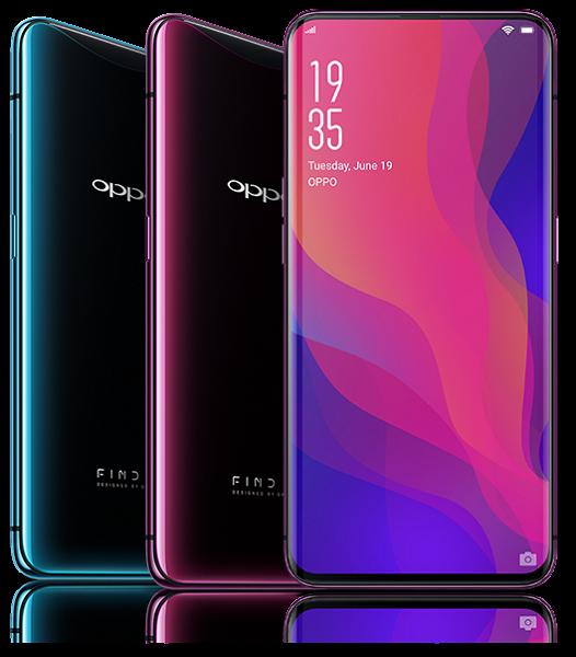 Начались продажи смартфона Oppo Find X в России