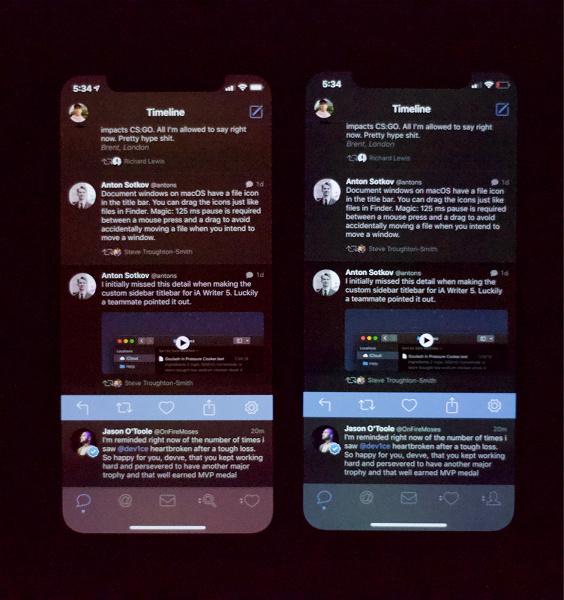 У iPhone XS обнаружились проблемы с экраном при минимальной яркости