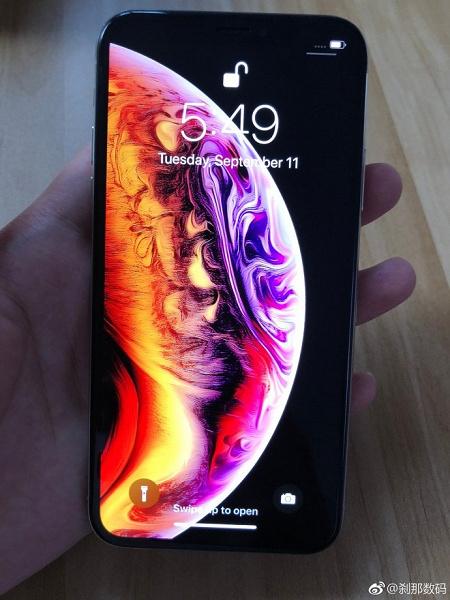 В Китае засветился рабочий iPhone XS