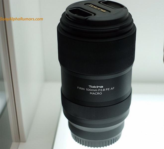 На Photokina замечен автофокусный объектив Tokina 100mm F2.8 FE AF
